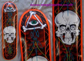 Skull Deck Custom Paint £80